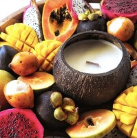 Tropical Fruit - Coconut Soy Candle