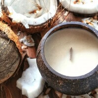 Toasted Coconut Soy Candle