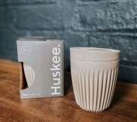 Huskee Cup with lid 8oz